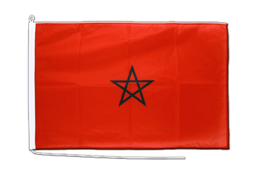 Morocco Boat Flag PRO 2x3 ft