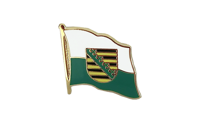Saxony Flag Lapel Pin