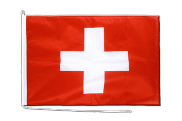 Switzerland Boat Flag PRO 2x3 ft