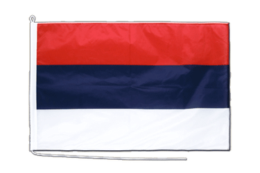 Serbia Boat Flag PRO 2x3 ft
