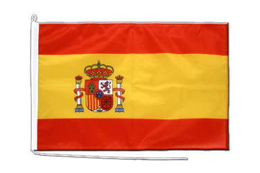 Spain with crest Boat Flag PRO 2x3 ft