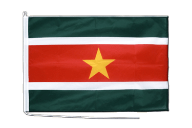 Suriname Boat Flag PRO 2x3 ft