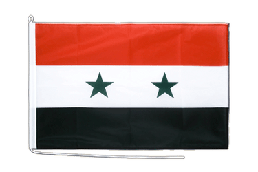Syrien Bootsflagge PRO 60 x 90 cm