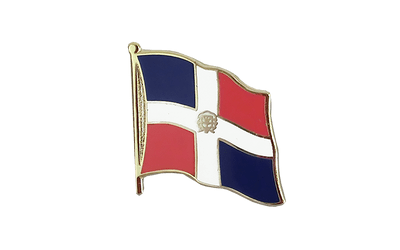 Pin's drapeau République dominicaine 2 x 2 cm