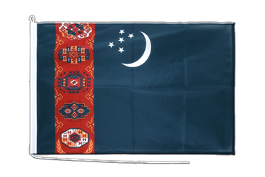Turkmenistan - Boat Flag PRO 2x3 ft