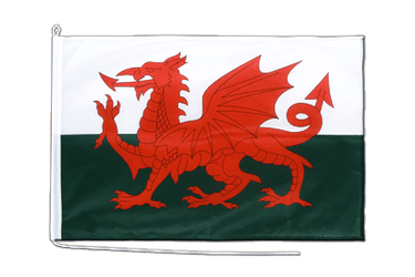 Wales Boat Flag PRO 2x3 ft