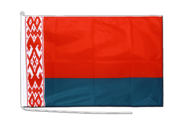 Weißrussland Bootsflagge PRO 60 x 90 cm