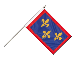Anjou Hand Waving Flag 12x18""