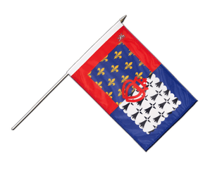 Pay de la Loire Hand Waving Flag 12x18""