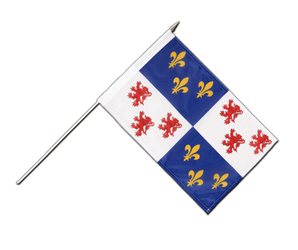 Picardie Stockflagge PRO 30 x 45 cm