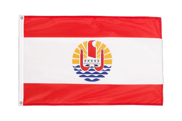 French Polynesia Grommet Flag PRO 2x3 ft