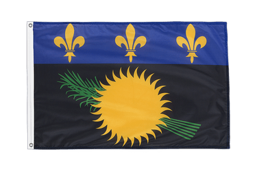 Guadeloupe Grommet Flag PRO 2x3 ft