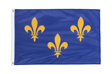 Île-de-France Grommet Flag PRO 2x3 ft