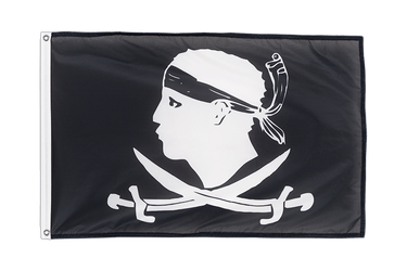 Pirate Corsica Grommet Flag PRO 2x3 ft