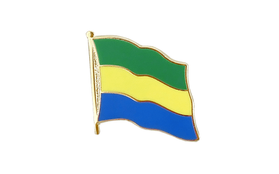 Gabon Flag Lapel Pin