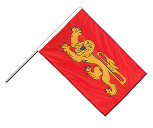 Aquitaine Hand Waving Flag PRO 2x3 ft