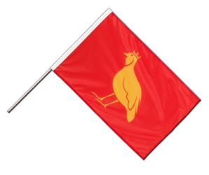 Aunis Hand Waving Flag PRO 2x3 ft