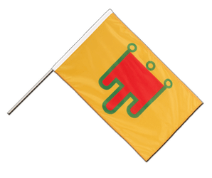 Auvergne - Hand Waving Flag PRO 2x3 ft