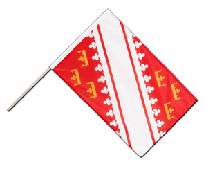 Alsace - Hand Waving Flag PRO 2x3 ft