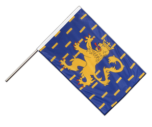 French Comte - Hand Waving Flag PRO 2x3 ft