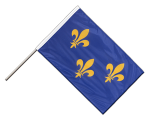 Île-de-France - Hand Waving Flag PRO 2x3 ft