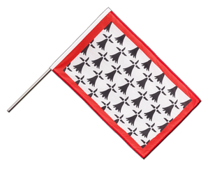 Limousin - Hand Waving Flag PRO 2x3 ft