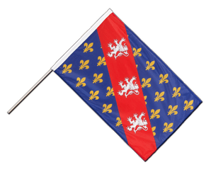 County of La Marche Hand Waving Flag PRO 2x3 ft