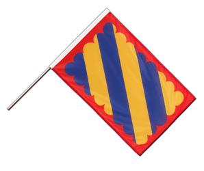 Nivernais Hand Waving Flag PRO 2x3 ft