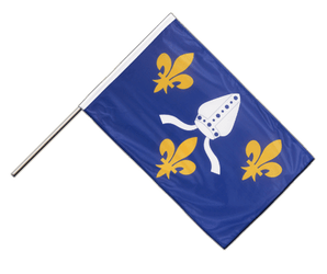 Saintonge - Hand Waving Flag PRO 2x3 ft