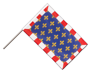 Touraine - Hand Waving Flag PRO 2x3 ft