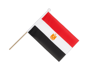 Egypt - Hand Waving Flag 6x9""