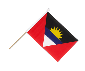 Antigua and Barbuda Hand Waving Flag 6x9""