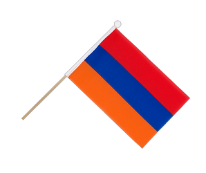 Armenia - Hand Waving Flag 6x9""