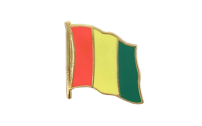 Guinea Flag Lapel Pin