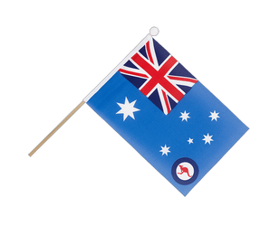 Drapeau sur hampe Royal Australian Air Force 15 x 22 cm