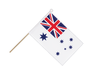 Royal Australian Navy Hand Waving Flag 6x9""