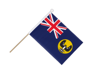 Australia South Hand Waving Flag 6x9""