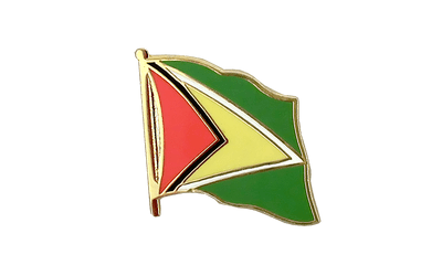 Guyana Flag Lapel Pin