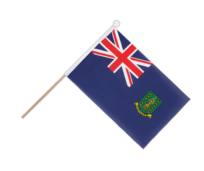 British Virgin Islands Hand Waving Flag 6x9""