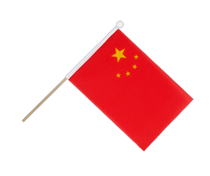 China Hand Waving Flag 6x9""