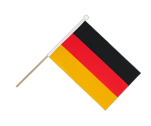 Germany Hand Waving Flag 6x9""