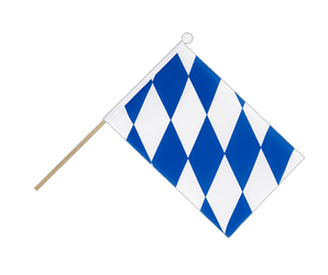 Bavaria without crest Hand Waving Flag 6x9""