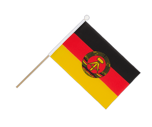GDR Hand Waving Flag 6x9""