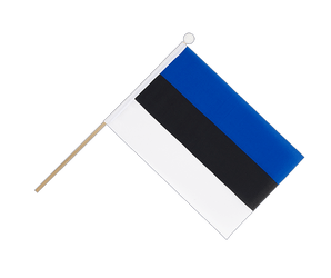 Estonia - Hand Waving Flag 6x9""
