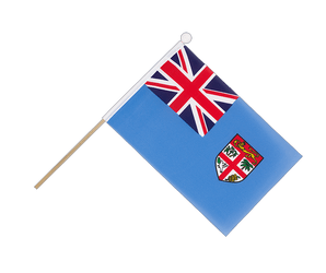 Fiji Hand Waving Flag 6x9""