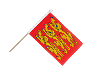Upper Normandy Hand Waving Flag 6x9""