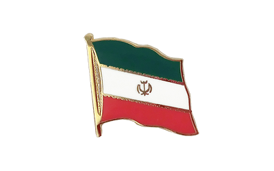Iran Flag Lapel Pin