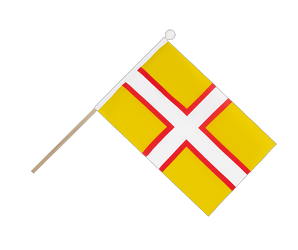 Dorset Hand Waving Flag 6x9""