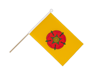 Lancashire new Hand Waving Flag 6x9""
