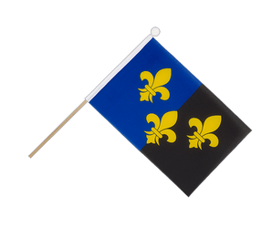 Great Britain Monmouthshire - Hand Waving Flag 6x9""